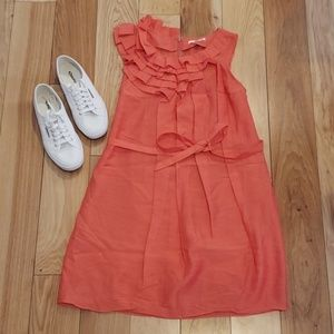Peach Summer Dress